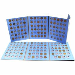 Estate Lot 1910-1969 United States Lincoln 1-cent Collection in Whitman Folders. You will receive 59
