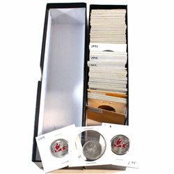 Estate Lot 1973-2009 Canada Coin Collection. You will receive 11x 25-cent Coins Dated 1973 to 2009,