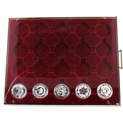 Estate Lot 1997-2006 Canada Proof Silver Dollar Collection in Display Tray. You will receive each of