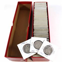 Estate Lot 1968-2002 Canada 50-cent Collection. You will receive 98 coins dated between 1968 and 200