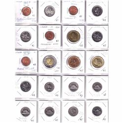 Estate Lot 1942-2018 Canada Mint Error Coin Collection. You will receive a variety of coins dated be