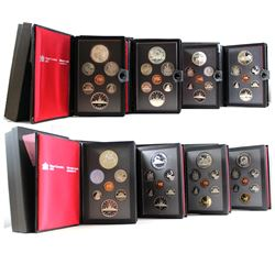 1981-1989 Canada Proof Double Dollar Collection. You will receive each set issued between 1981 and 1