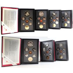 1988-1994 Canada Proof Double Dollar Collection. You will receive each set issued between 1988 and 1