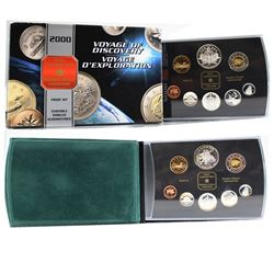 2000 Canada Voyage Proof Set & 2001 Canada Ballet Proof Set (missing outer box). Please note coins c