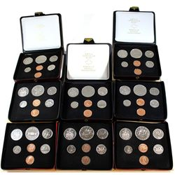 1971-1979 Canada Specimen Double Penny Set Collection. You will receive each date from 1971 to 1979