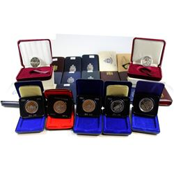 * 1970-1982 Canada Nickel Dollar Collection. You will receive the following 9x 1970, 1x 1970 Japan E