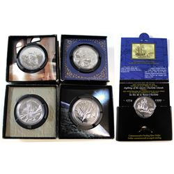 1999-2003 Canada Brilliant Uncirculated Dollar Collection. You will receive each date from 1999 to 2