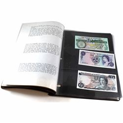 Limited Edition British Banknote Collection Issued by Xenon Investments Ltd. This Collection contain