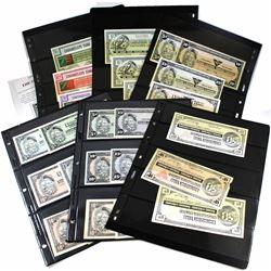 Mixed lot of Canadian Tire Banknotes. 57 pcs