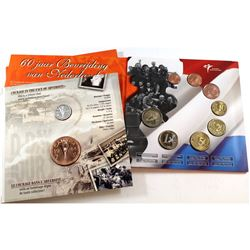 2004 Canada D-Day Sterling Silver Nickel & Medallion set & 2005 Liberation of Netherlands Sterling S