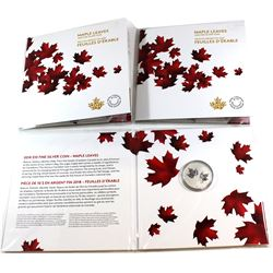 3x 2018 Canada $10 Maple Leaves Silver Coin (Tax Exempt). 3pcs