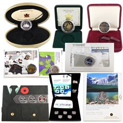 RCM Lot: 1982 Constitution Dollar, 1999 May Proof Millennium 25-cent, 2004 Easter Lily 50-cent (miss