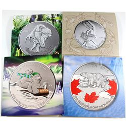 2015-2016 Canada Fine Silver coins (Tax Exempt): 2015 $20 for $20 Bug Bunny, 2016 $20 for $20 Tyrann