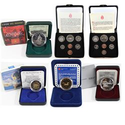 Estate lot of Canada Commemorative RCM coins: 1973 Canada Specimen Double Penny set (holder contain
