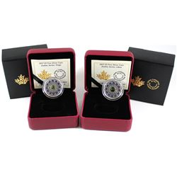2x 2017 Canada $5 Zodiac Series - Libra & Virgo Fine Silver Coins (Tax Exempt). 2pcs