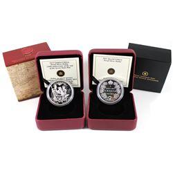 2011 Canada Sp. Ed. 1911 Silver Dollar Centennial Proof Sterling Silver Dollar & 2013 Canada $1 250t
