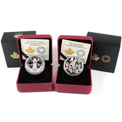 2016 Canada $1 Celebrating Canadian Athletes - Limited Edition Proof Silver Dollar & 2017 150th Anni