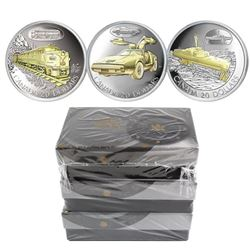 Lot of all 3x 2003 Canada $20 Transportation Series Sterling Silver Coins - The Bricklin Car, HMCS B