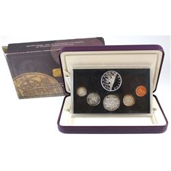 1953-2003 Canada Coronation Proof Set (outer sleeve is worn & coins are toned)