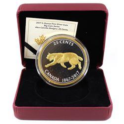 2017 Canada 25-cent Alex Colville Designs Big Coin Series 5oz. Fine Silver Coin (Tax Exempt). Coin c