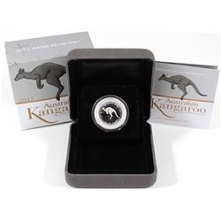 2017 Australia 1/4oz 25-cent Proof Kangaroo Fine Silver Coin (Tax Exempt)