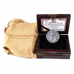 2016 Niue $5 Journeys of Discovery - Ferdinand Magellan Fine Silver Coin (Tax Exempt)