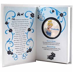 2015 Niue $2 Disney Princesses - Cinderella Proof Silver Coin (Tax Exempt)