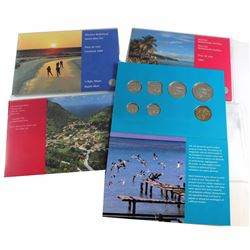 Lot of 4x Dutch Mint Sets from the World. You will receive 1994 Netherlands Antilles, 1994 Aruba, 19