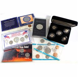 Estate Lot of USA Coins and Sets. You will receive American Obsolete Collection 5-coin, 5 Decades of