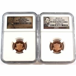 2011-S USA 1-cent NGC Certified PF 70 Ultra Cameo *Early Release*