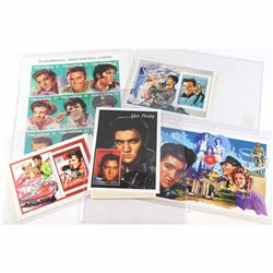 Estate Lot of International Collectors Society Elvis Presley Stamps. You will receive 4x different s