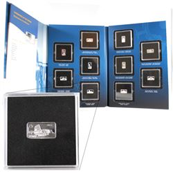 RCM Issue: 2014 Official Landmarks of the World 2.5g Fine Silver Ingot Collection (Tax Exempt). You