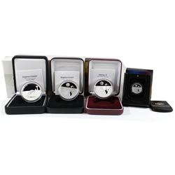 Lot of Royal Australian Mint $1 1oz. Kangaroo .999 Fine Silver Proof Coins. You will receive 2009 Ka