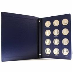 The Franklin Mint Treasury of Presidential Commemorative Medals *American Express Edition* 36-medal