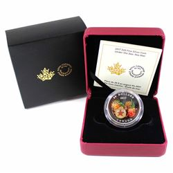 2017 Canada $20 Under the Sea - Sea Star Fine Silver Coin with Murrini Glass Element (Tax Exempt).