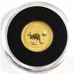 2005 Australia 1/20oz .9999 Fine Gold Australian Nugget in Capsule (Tax Exempt).