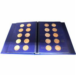 Welling's Mint Ltd. Medallic History of Canada First Edition Proof Set Vol. 1. This extraordinary se