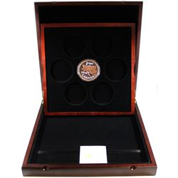2018 Canada 1-cent  5oz Big Coin Series Fine Silver Coin with Deluxe Subscription Case (Tax Exempt).
