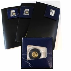 3x RCM Smallest Gold Coins of the World Collection 0.5g .9999 Fine Gold Coins. You will receive 2007