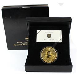 Canada 2005 $300 135th Anniv. of the 1st Shinplaster 14K Gold coin. Please note packaging & capsule