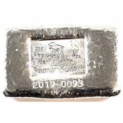 10oz Beaver Bullion .999 Fine Silver Poured Bar (Tax Exempt).