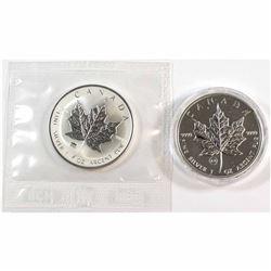 2009 Brandenburg Gate & 2009 London Bridge Canada 1oz .9999 Fine Silver Privy Maple Leafs. Brandenbu