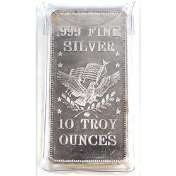 10oz APM .999 Fine Silver Bar (Tax Exempt).