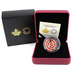 2016 Canada $20 Maple Leaf Maze Fine Silver Coin (Tax Exempt).