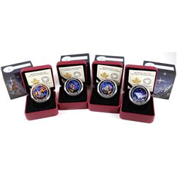 2015 Canada $20 Star Charts Fine Silver Coin Collection (Tax Exempt). You will receive The Wounded B