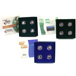 1996-2000 Canada 50-cent Sterling Silver Proof Coin Collection. You will receive the 1996 Little Wil