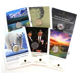 2004-2006 Canada First Day Cover Collection. You will receive the 2004 25-cent Poppy, 2005 Terry Fox