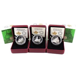 2015-2016 $20 Canadian Home Front Fine Silver Coin Collection (Tax Exempt). You will receive the 201