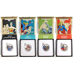 2015 Canada $10 DC Comics Originals Fine Silver Coin Collection (Tax Exempt). You will receive The L