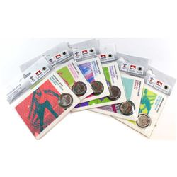 2010 Vancouver Olympic Winter Games 25-cent Sport Card Collection. You will receive Biathlon, Speed